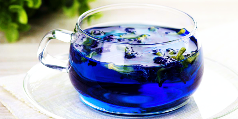 BLUE TEA FROM THAILAND — OTHER KINDS AND USEFUL PROPERTIES