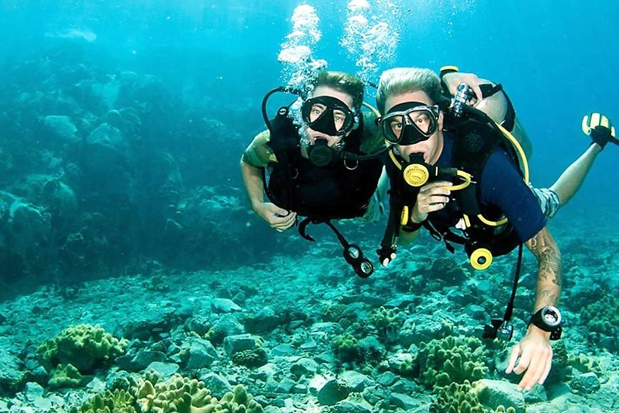 THE BEST PLACES FOR DIVING ON THE ISLAND KOH CHANG