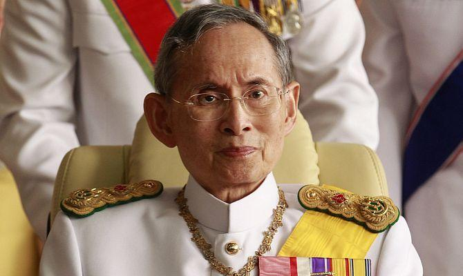 Король Тайланда Пумипон Адульядет Рама IX