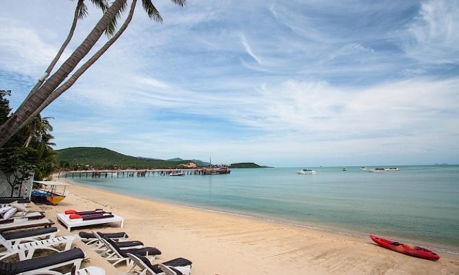 Банг Рак пляж