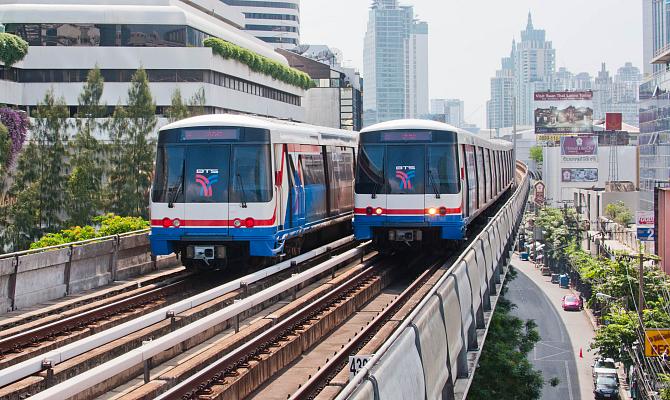 Бангкок_Skytrain