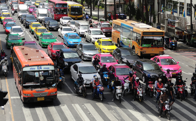 пробки в Бангкоке