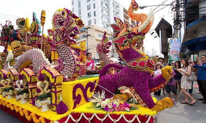 Lễ hội hoa - Chiang Mai Festival Flower
