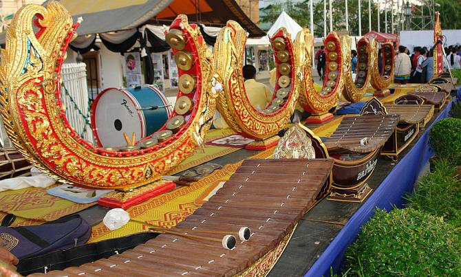 музыкальные инструменты Таиланда