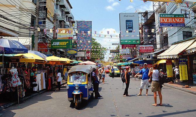 Каосан Роуд - обзор главной туристической улицы Бангкока