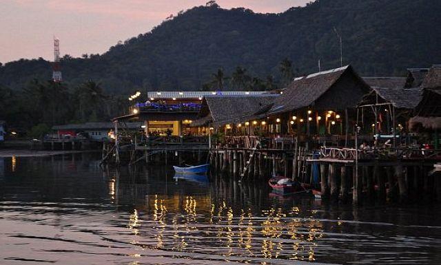 Рыбацкая деревня Банг Бао