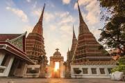 Ват Пхо - Храм лежащего Будды в Бангкоке
