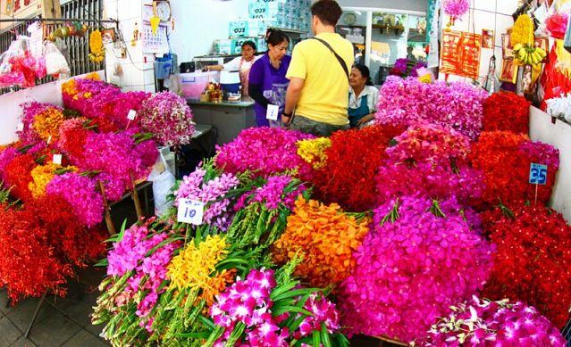 Цветочный рынок - Пак Клонг Талад