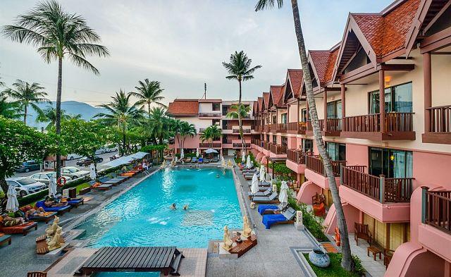 Seaview Patong Hotel, 4-звездочный отель.