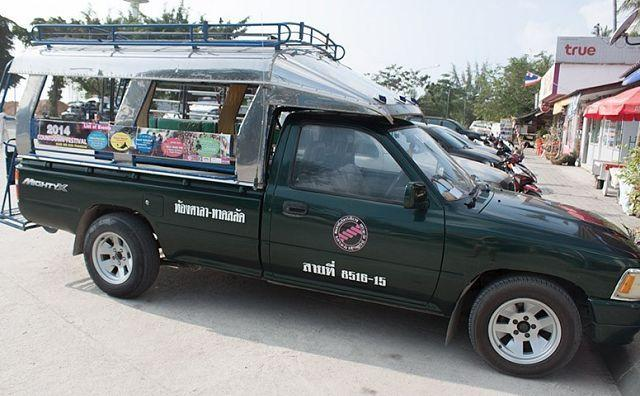 Сонгтео — такси на Пангане