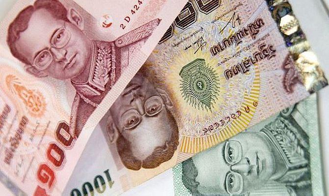 деньги в паттайе