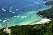 Близлежащие острова от курортного города Паттайи