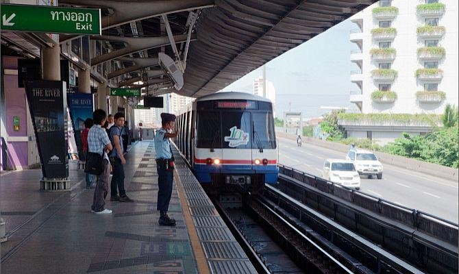 Виды, стоимость и важные станции метро Бангкока