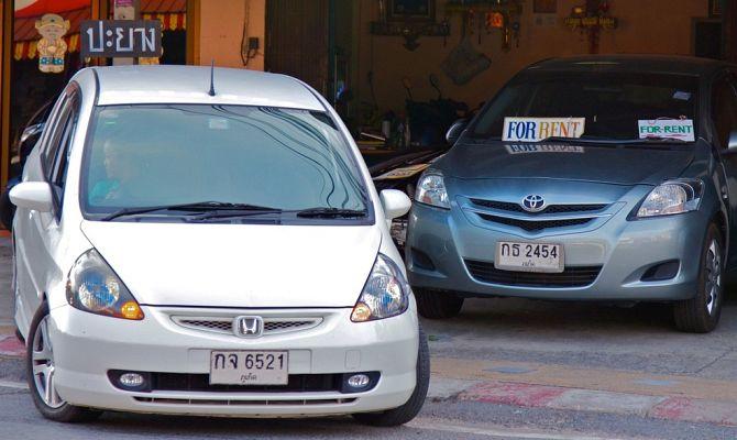 เช่ารถในประเทศไทย