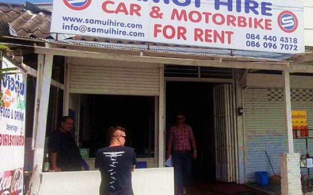 Аренда авто на острове Самуи - цены и условия проката