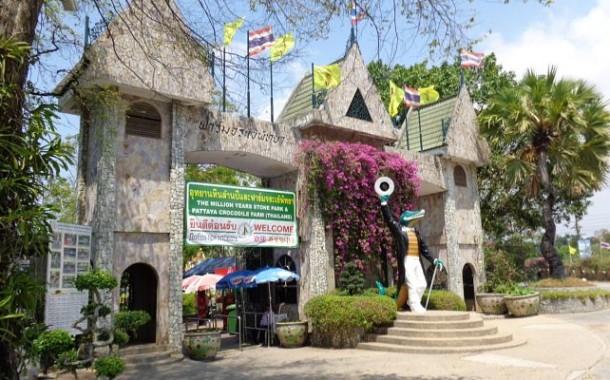 Крокодиловая ферма в Паттайе и парк миллион летних камней