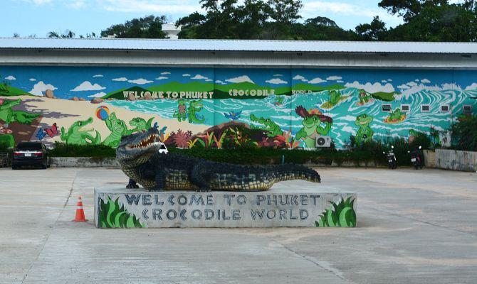 крокодиловая ферма пхукет