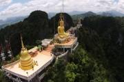 Храм «Пещера Тигра» (Wat Tham Suea) или Tiger Cave Temple в Краби