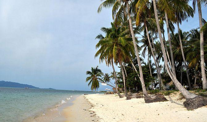 Пляж Бан Тай (Baan Tai Beach)  - пляж мимоза на Самуи