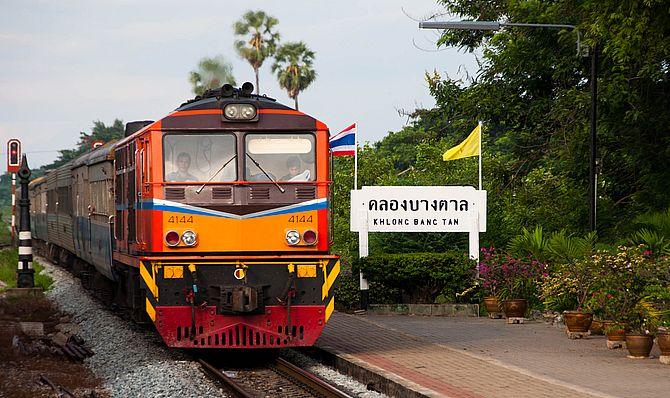 ж/д в таиланде