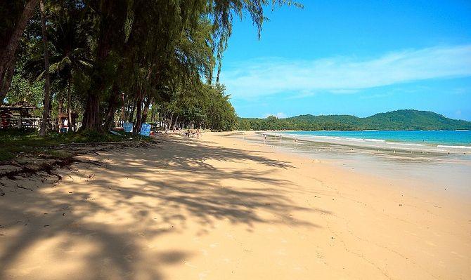 Клонг Муанг - дикий пляж в провинции Краби
