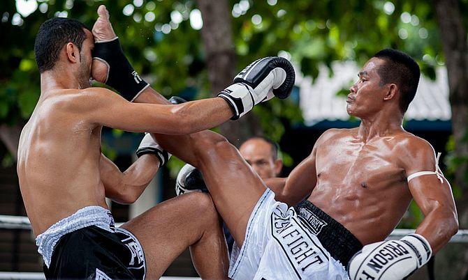 Спорт в Тайланде - дайвинг, снорклинг, серфинг, боевые искусства