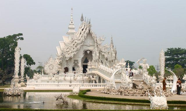 Таиланд белый храм