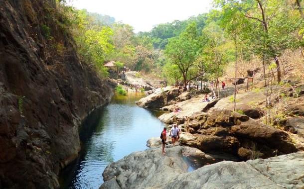 Водопады на острове Чанг (Koh Chang)