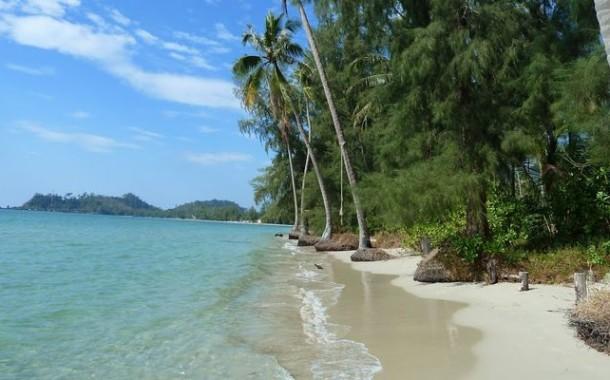 Клонг Прао - самый протяженный пляж Ко Чанга