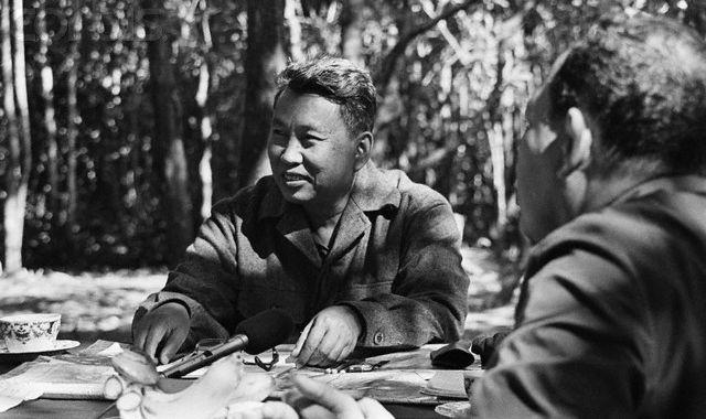 Pol Pot In The Cambodian Jungle