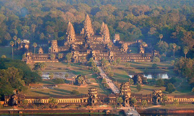 Древние храмы Камбоджи - святилища кхмеров