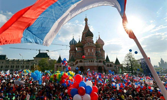 จะไปที่ไหนสำหรับวันหยุดเดือนพฤษภาคมในรัสเซีย