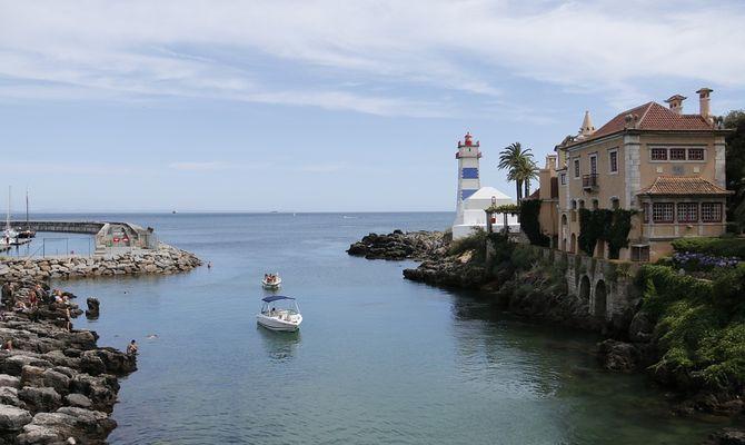 Кашкайш в Португалии - райское место на берегу Атлантики