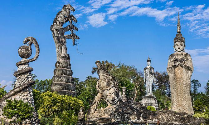 Лаос - страна «золотых» храмов и колоритных деревушек