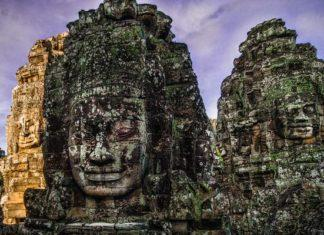 Rock Faces of Angkor Thom
