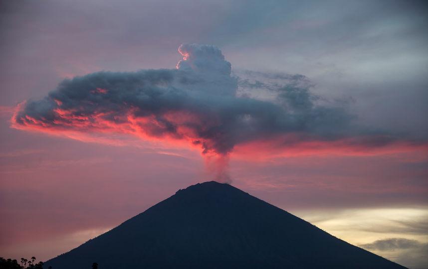 ภูเขาไฟในบาหลี