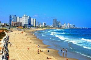 İsrailin plajları: Aralıq dənizi, Qırmızı, Ölü dəniz