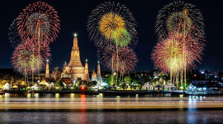 European New Year in Thailand