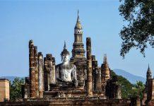 SIGHTS OF THE PROVINCE OF THE SUKHOTHAI