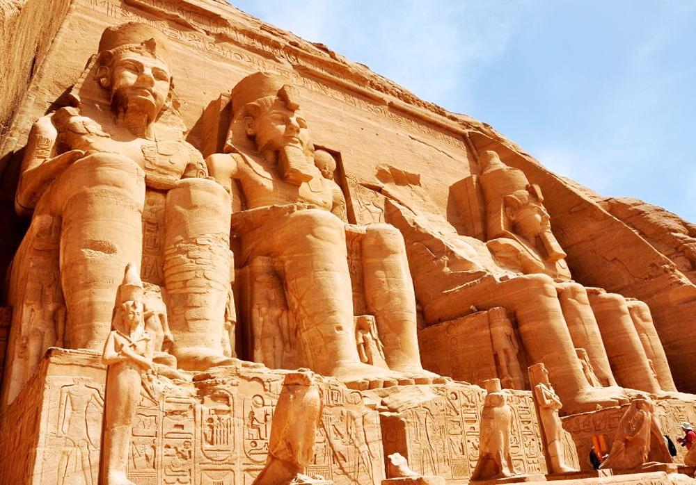 Храмы скалы Абу-Симбел