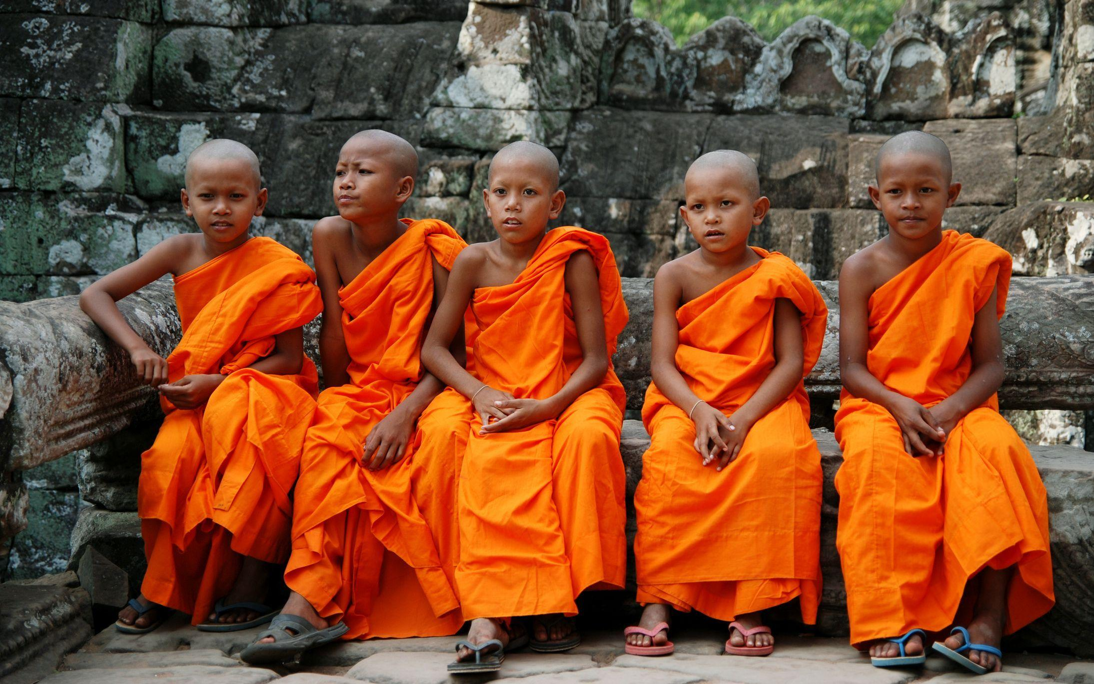Народы Камбоджи буддисты