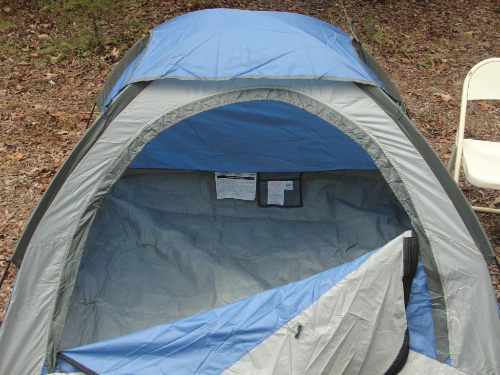 Палатка без дна
