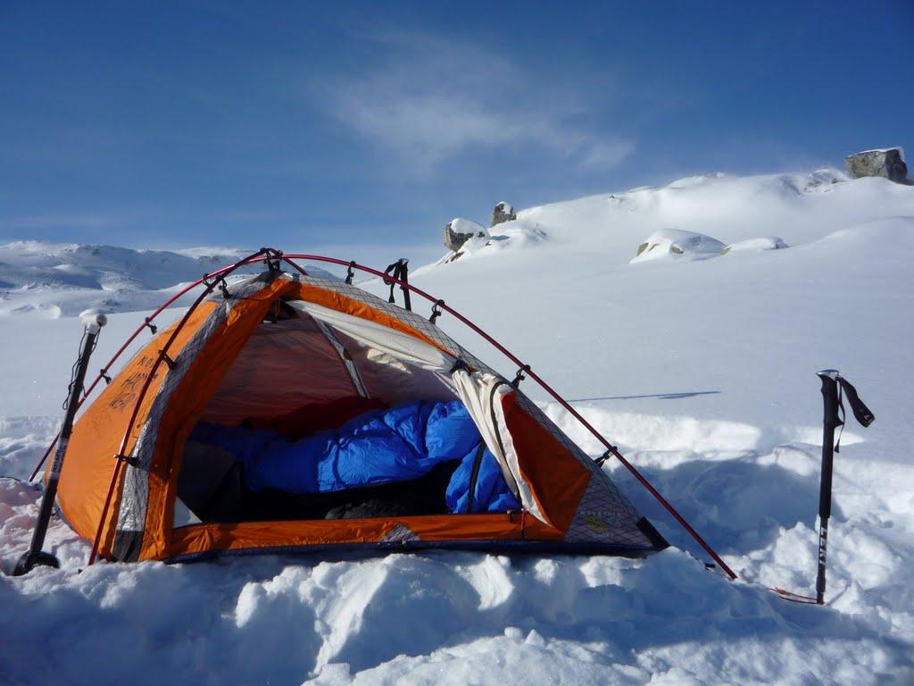 Палатка для экстремального туризма