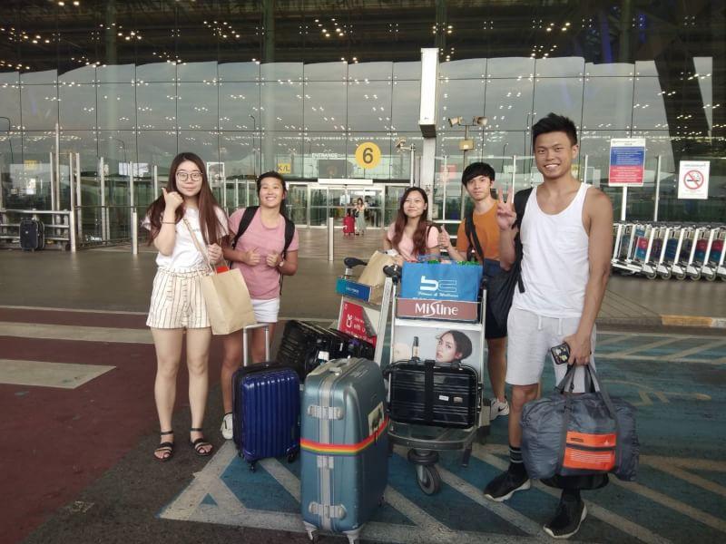 Встреча в аэропорту Бангкока