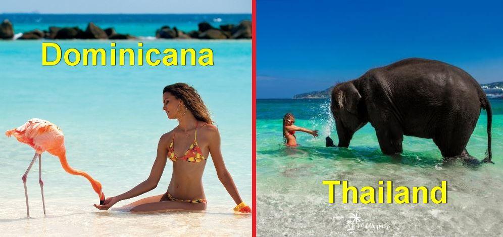 Доминикана или Таиланд