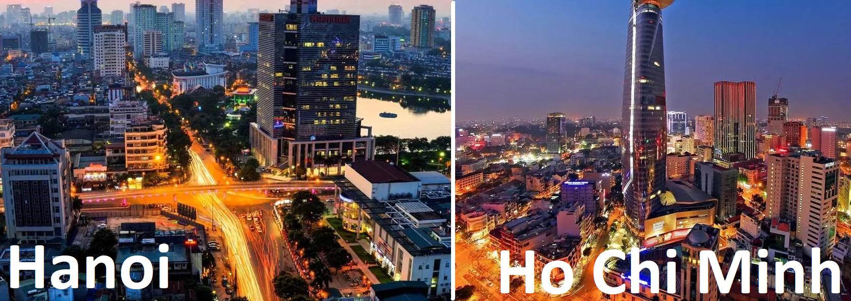Hanoi oswa Ho Chi Minh City
