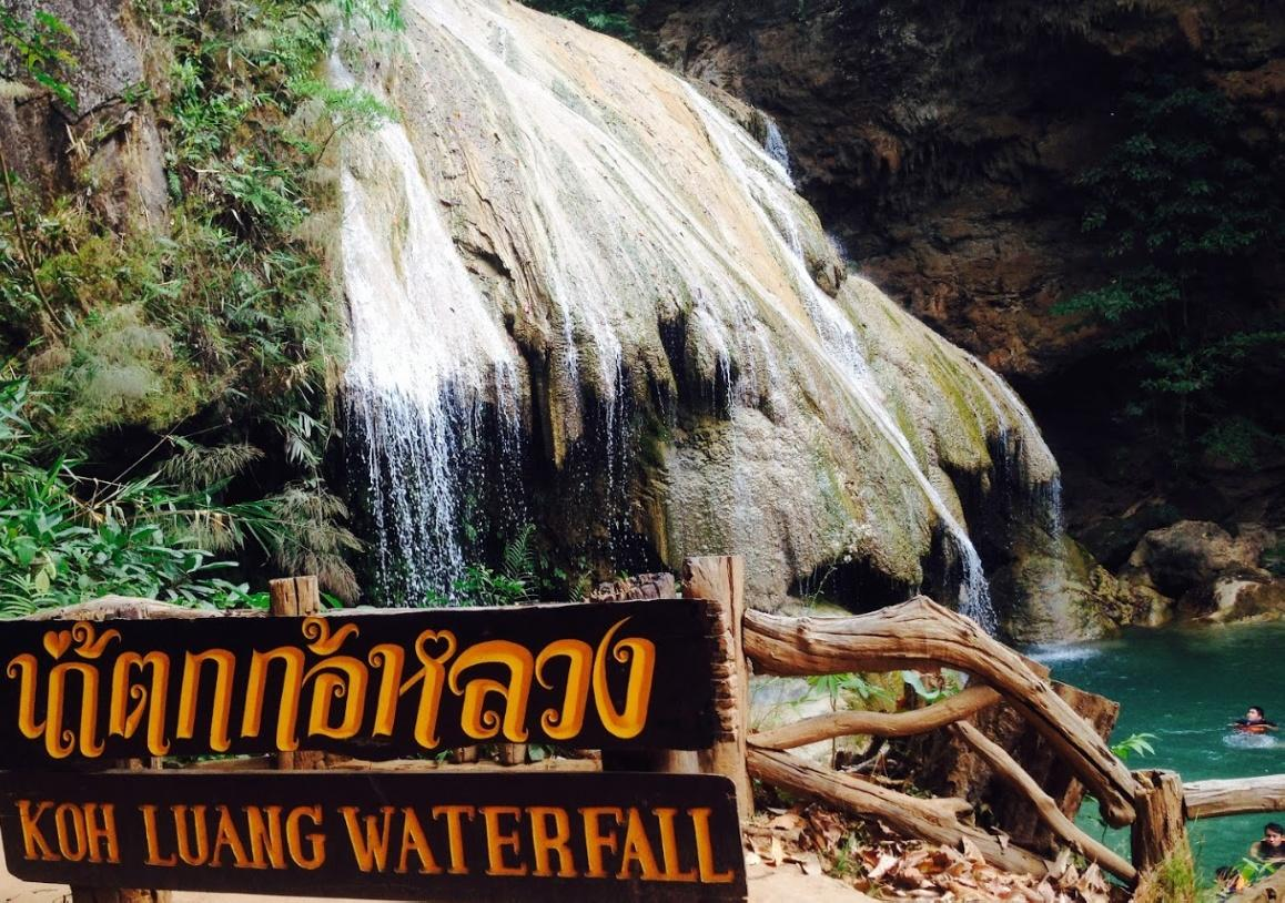 7-tiered Koh Luang Waterfall