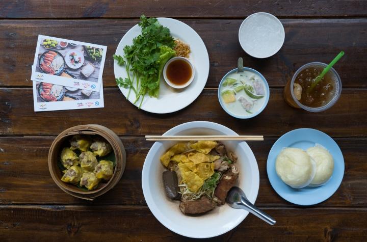 longan-based dishes