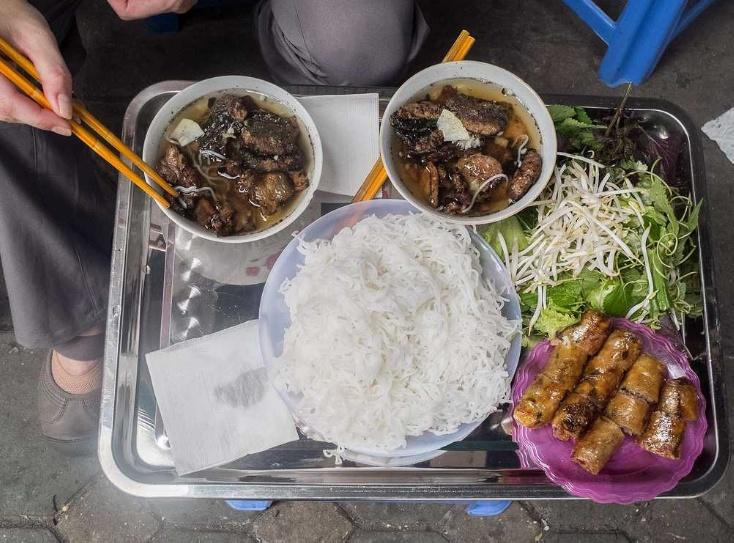 Кухня в Ханое