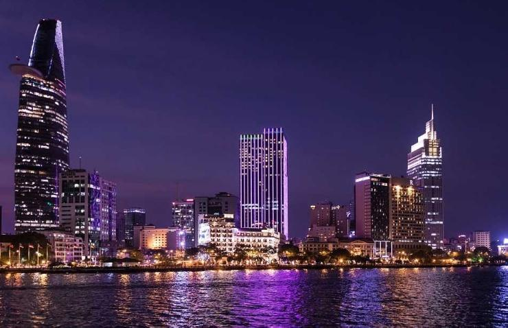 Ho Chi Minh City Skline at Night